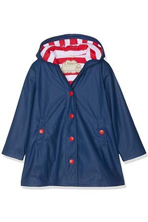 Hatley Meisje Splash Jacket-Navy Rain