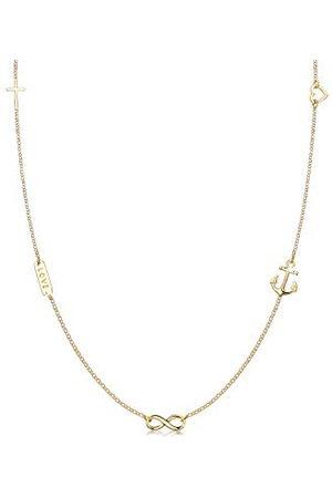 Elli Halsketting Dames Liefde Symboliek Hanger Basis in 925 Sterling Zilver