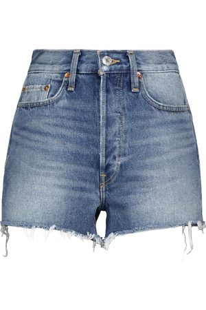 RE/DONE 70s high-rise denim shorts