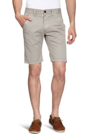 JACK & JONES Heren korte normale band 12057371 EDWARD CHINO SHORTS S. GREY