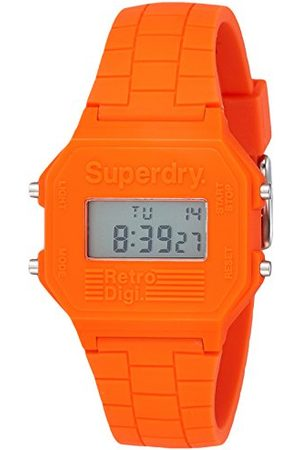 Superdry SYGSYG201O Digitaal kwartshorloge met siliconen armband