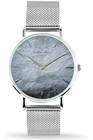 Elie Beaumont Mannen analoog Japans quartz horloge met roestvrij stalen band MB1805.3