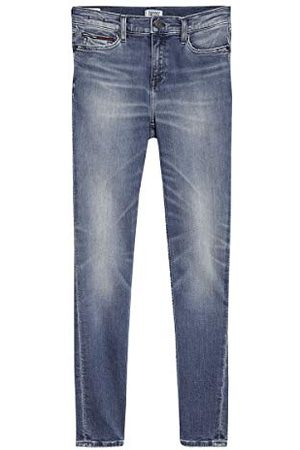 Tommy Hilfiger Nora Mid Rise Skinny Ankle Qnscl Straight Jeans voor dames