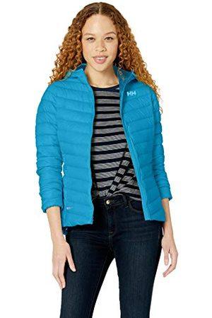 Helly Hansen W Verglas Hooded Down Geïsoleerd Sportjack, (Azul Wave 632), X-Small (maat van de fabrikant: XS) voor dames