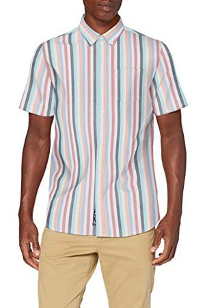 Superdry Heren Ss East Coast Oxford Shirt Vrijetijdshemd