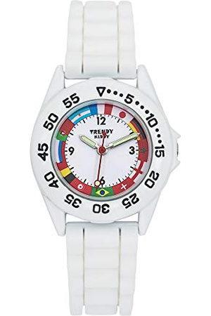 Trendy Kiddy KL 379 Analoog kwartshorloge voor kinderen, met siliconen armband