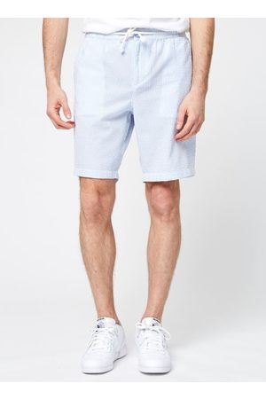 Knowledge Cotton Apparal Short Fig Seersucker by