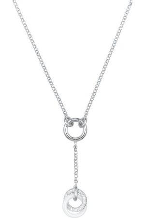 Ceranity Dameshalsketting sterling zilver 925 5,35 g zirkonia 45 cm 1-72/0002-B