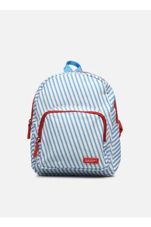 Bakker made with love BACKPACK MINI canvas capsule - stripes sky by