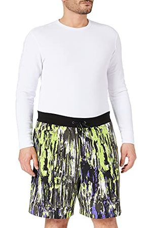 Armani Truffle/Acid Lime Ty Casual shorts voor heren