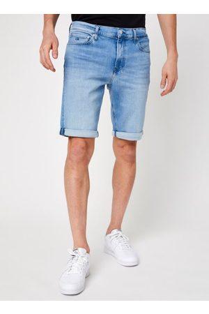 Calvin Klein Slim Denim Short Light Blue by
