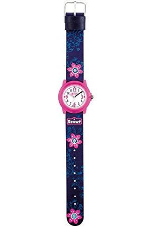 Scout Meisjes analoog kwarts horloge met PU armband 280305028