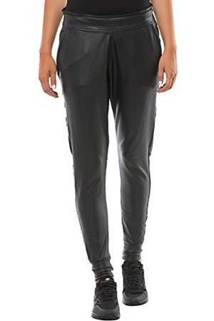 True Religion Dames relaxed sportbroek dames FAKE LEATHER PANT