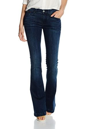 Tommy Hilfiger Dames MID RISE FLARE FRAN DAST Boot-Cut Jeans