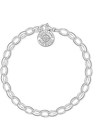 Thomas Sabo DCX0001-725-14-L Damesarmband Charm Club, 925 sterling , diamant, 21 cm