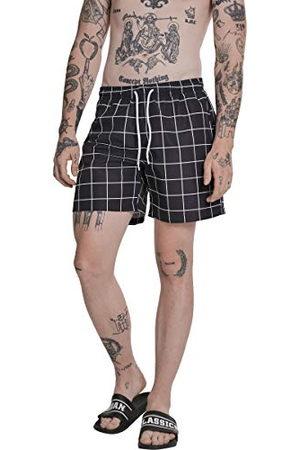 Urban classics Heren zwembroek Check Swim Shorts, zwemshorts voor mannen verkrijgbaar in 3 kleurvarianten, maten S - 5XL