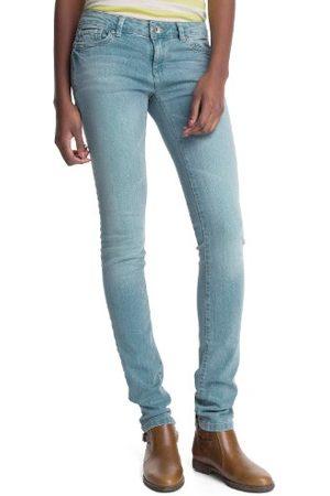 Esprit Dames jeans 053CC1B020 Superskin Skinny Slim Fit (groen) normale band