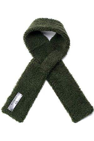Coolskins Sjaal voor meisjes, voor de winter, zacht en warm, lams, met krullend haar en leer, 100% leer en Spaanse confectie voor meisjes - - One Size