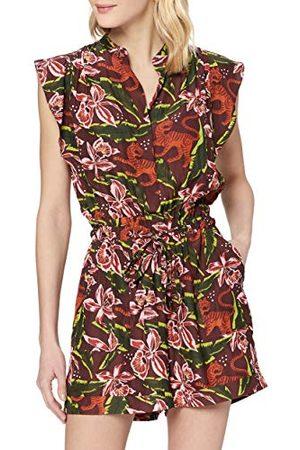 Scotch&Soda Jumpsuit voor dames met bloemenprint.