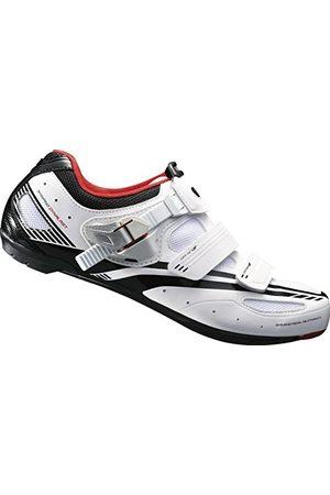 Shimano Volwassenen fietsschoenen wielrenschoenen SH-R107W GR. 45 SL SPD klittenband/ratel, meerkleurig