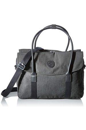 Kipling Superworker Bagage Messenger Bag voor dames, Black Peppery - KI519078S