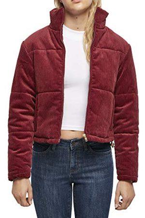 Urban classics Dames Dames Corduroy Buffer Jacket Jassen