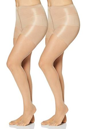 IRIS & LILLY By Wolford damespanty's, Pack van 2, (vrij licht), L, Label:L