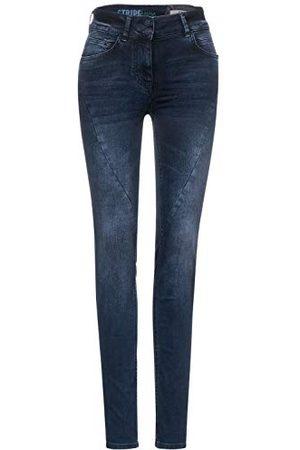 CECIL Dames Toronto jeans, / used wash, W31/L30