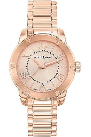 Saint Honore Dames analoog kwarts horloge met roestvrij stalen armband 7511308LMRR