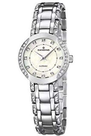 Candino Dames Horloges - Womens analoge klassieke quartz horloge met roestvrij stalen band C4502/3