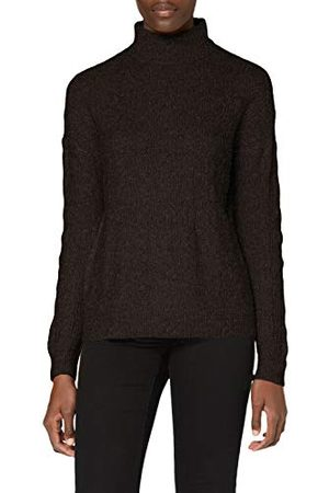 Pieces Pcbecky Ls High Neck Cable Knit Noos Bc Pullover voor dames