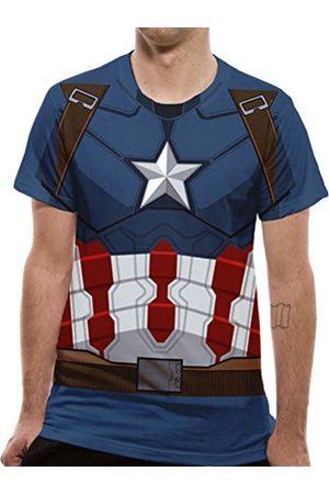 Cid Heren Civiele Oorlog-Sublimated Captain America pak kostuum T-Shirt