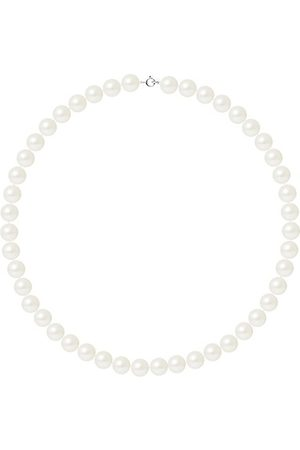Pearls & Colors Collier - AM17-COL-AG-R910-AR-WH