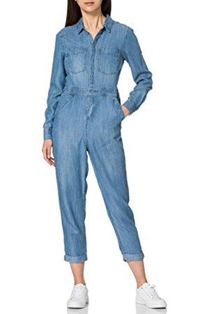 Superdry Tencel Boiler Suit Dress voor dames