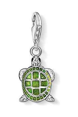 Thomas Sabo Charm-hanger voor dames schildpad Charm Club 925 sterling zilver 0837-007-6