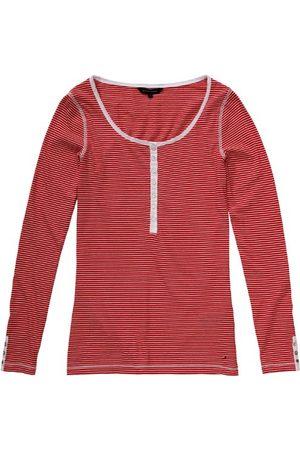 Tommy Hilfiger Dames shirt met lange mouwen, gestreept 1M87611037/ GRIDLEY STP HENLEY LS