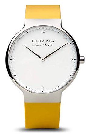 Bering Herenhorloge analoog kwarts siliconen 15540-600