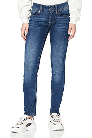 G-Star Dames Midge Saddle Mid Waist Straight Jeans