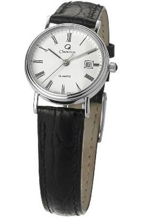 ORPHELIA Dames analoog kwarts horloge met lederen armband MON-7084/1