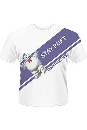 Plastic Head Plastic hoofd mannen Ghostbusters blijven Puft TSDS Gestreepte kraag korte mouw T-Shirt