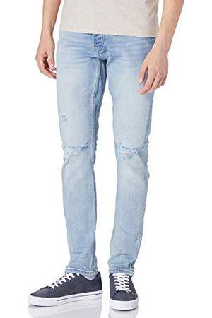 Only & Sons Heren ONSLOOM Life Slim L Destroy DCC8617 Jeans, Blue Denim, 32/34