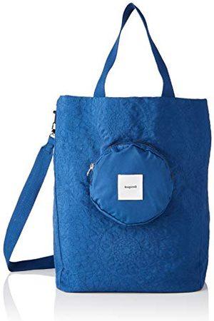 Desigual Womens SHOPPING BAG NAMASTE, 5000 NAVY, U LUGGAGE, BLUE, U