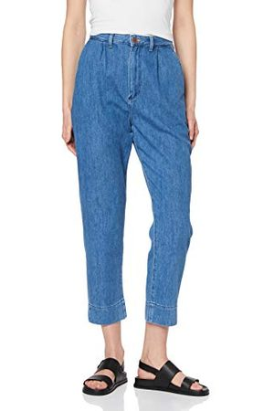 Wrangler Mom Chino Straight Jeans voor dames.