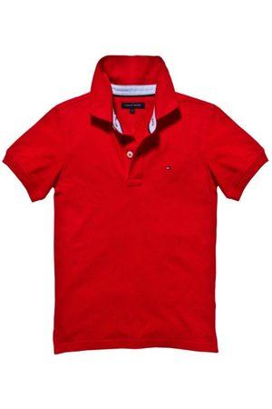 Tommy Hilfiger Poloshirt voor kinderen - rood - 146