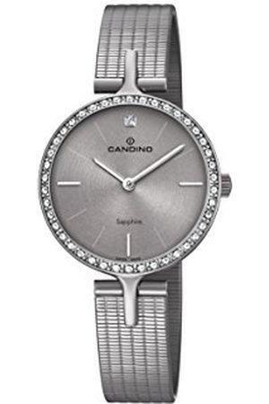 Candino Womens Analoog Klassiek Quartz Horloge met RVS Band C4647/1