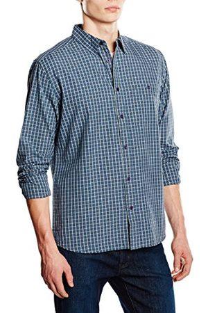 Wrangler Heren 1 Pocket Regular Fit Lange Mouw Casual Shirt