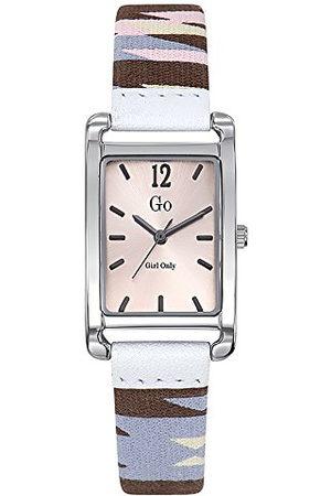 GO Girl Only Dameshorloge, analoog, kwarts, met armband van stof 699139