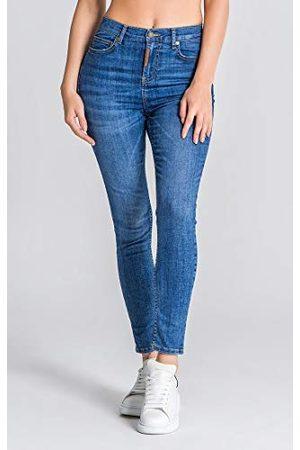 Gianni Kavanagh Medium Blue Core Skinny Jeans Vrouwen