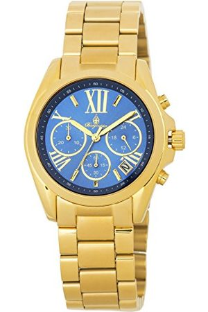 Burgmeister Dames chronograaf kwarts horloge met roestvrij stalen armband BM337-237