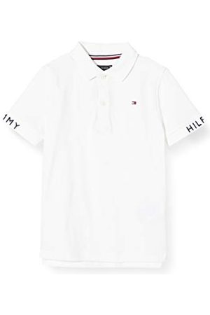 Tommy Hilfiger Sleeve Text Polo S/S Jongens - - 3-4 ans